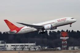 kan787allさんが、成田国際空港で撮影したエア・インディア 787-8 Dreamlinerの航空フォト(飛行機 写真・画像)