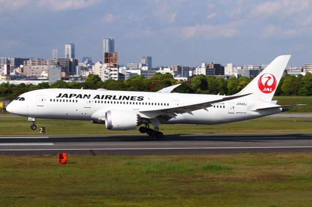 航空フォト:JA846J 日本航空 787-8 Dreamliner