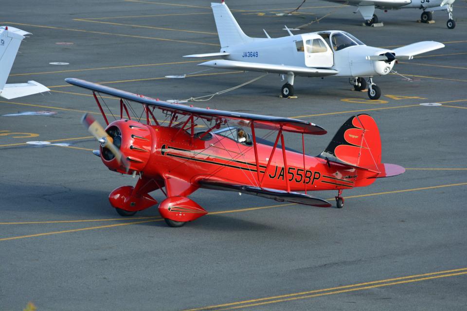 Gambardierさんの日本個人所有 Waco F (JA55BP) 航空フォト