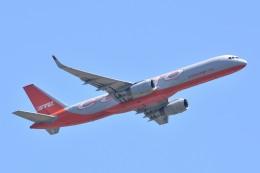 サンドバンクさんが、成田国際空港で撮影したアビアスター 757-223(PCF)の航空フォト(飛行機 写真・画像)