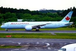 SFJ_capさんが、成田国際空港で撮影したエア・カナダ 787-9の航空フォト(飛行機 写真・画像)