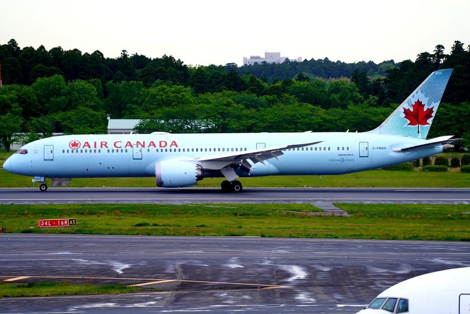 SFJ_capさんのエア・カナダ Boeing 787-9 (C-FNOH) 航空フォト