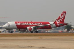 磐城さんが、ドンムアン空港で撮影したタイ・エアアジア A320-251Nの航空フォト(飛行機 写真・画像)