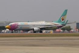 磐城さんが、ドンムアン空港で撮影したノックエア 737-86Jの航空フォト(飛行機 写真・画像)