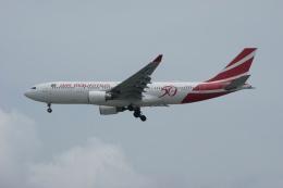 磐城さんが、シンガポール・チャンギ国際空港で撮影したモーリシャス航空 A330-202の航空フォト(飛行機 写真・画像)