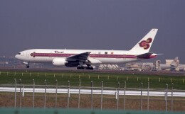 kumagorouさんが、成田国際空港で撮影したタイ国際航空 777-2D7の航空フォト(飛行機 写真・画像)