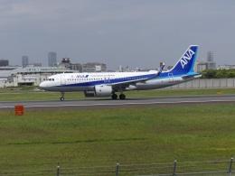 うすさんが、伊丹空港で撮影した全日空 A320-271Nの航空フォト(飛行機 写真・画像)