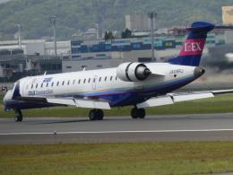 うすさんが、伊丹空港で撮影したアイベックスエアラインズ CL-600-2C10 Regional Jet CRJ-702の航空フォト(飛行機 写真・画像)
