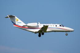 さんごーさんが、成田国際空港で撮影したフジビジネスジェット 525A Citation CJ2+の航空フォト(飛行機 写真・画像)
