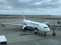 Smyth Newmanさんが、新千歳空港で撮影した日本航空 767-346/ERの航空フォト(飛行機 写真・画像)