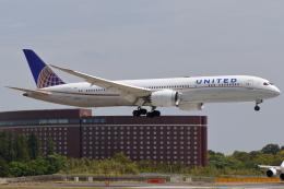 こだしさんが、成田国際空港で撮影したユナイテッド航空 787-9の航空フォト(飛行機 写真・画像)
