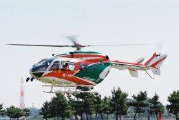 ゴンタさんが、愛知県知多市新舞子で撮影した香川県防災航空隊 BK117C-2の航空フォト(飛行機 写真・画像)