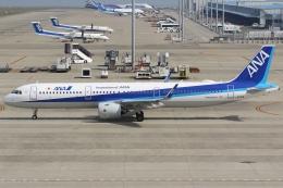 Wings Flapさんが、中部国際空港で撮影した全日空 A321-272Nの航空フォト(飛行機 写真・画像)
