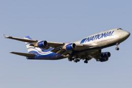 walker2000さんが、成田国際空港で撮影したナショナル・エアラインズ 747-428(BCF)の航空フォト(飛行機 写真・画像)