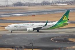 kan787allさんが、成田国際空港で撮影した春秋航空日本 737-86Nの航空フォト(飛行機 写真・画像)