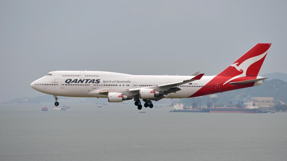 flytaka78さんのカンタス航空 Boeing 747-400 (VH-OEG) 航空フォト