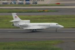 やつはしさんが、羽田空港で撮影した中国企業所有 Falcon 7Xの航空フォト(飛行機 写真・画像)