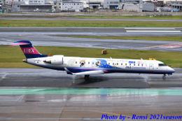 れんしさんが、福岡空港で撮影したアイベックスエアラインズ CL-600-2C10 Regional Jet CRJ-702ERの航空フォト(飛行機 写真・画像)