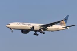 senyoさんが、成田国際空港で撮影したコンチネンタル航空 777-224/ERの航空フォト(飛行機 写真・画像)