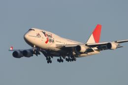senyoさんが、成田国際空港で撮影した日本航空 747-446の航空フォト(飛行機 写真・画像)