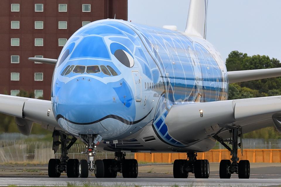 HADAさんの全日空 Airbus A380 (JA381A) 航空フォト