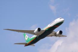 赤ちんさんが、成田国際空港で撮影したエバー航空 787-9の航空フォト(飛行機 写真・画像)