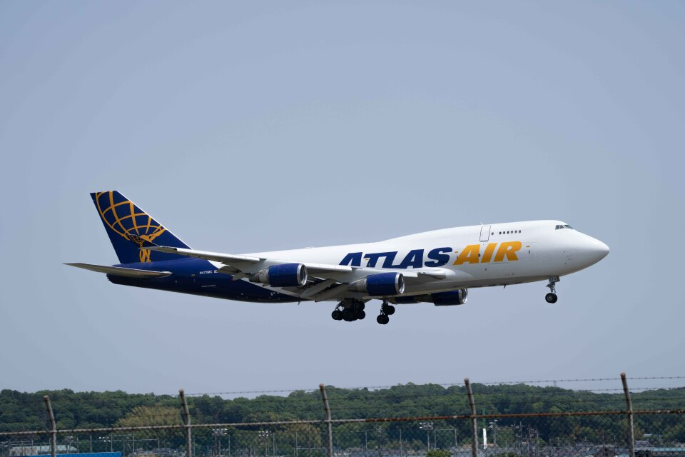 Takeshi90ssさんのアトラス航空 Boeing 747-400 (N473MC) 航空フォト