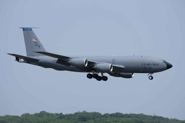 Takeshi90ssさんが、横田基地で撮影したアメリカ空軍 KC-135R Stratotanker (717-148)の航空フォト(飛行機 写真・画像)