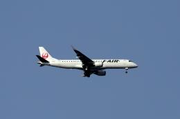 Ridleyさんが、羽田空港で撮影したジェイエア ERJ-190-100(ERJ-190STD)の航空フォト(飛行機 写真・画像)