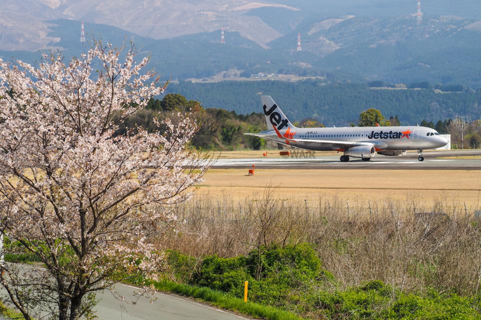 WAiRさんのジェットスター・ジャパン Airbus A320 (JA15JJ) 航空フォト