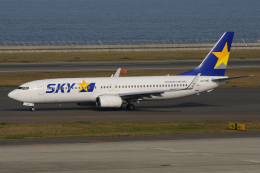 きんめいさんが、中部国際空港で撮影したスカイマーク 737-82Yの航空フォト(飛行機 写真・画像)