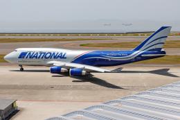 A.Tさんが、中部国際空港で撮影したナショナル・エアラインズ 747-428(BCF)の航空フォト(飛行機 写真・画像)