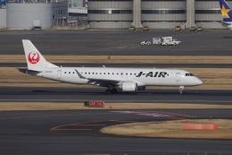 OS52さんが、羽田空港で撮影したジェイエア ERJ-190-100(ERJ-190STD)の航空フォト(飛行機 写真・画像)