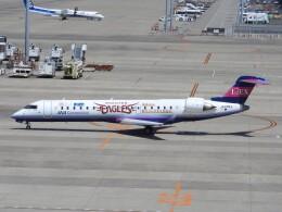 White Pelicanさんが、中部国際空港で撮影したアイベックスエアラインズ CL-600-2C10 Regional Jet CRJ-702の航空フォト(飛行機 写真・画像)