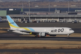 OS52さんが、羽田空港で撮影したAIR DO 767-381の航空フォト(飛行機 写真・画像)