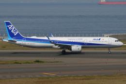 きんめいさんが、中部国際空港で撮影した全日空 A321-272Nの航空フォト(飛行機 写真・画像)