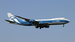 Nobu-oji_NEXUS6さんが、成田国際空港で撮影したエアブリッジ・カーゴ・エアラインズ 747-8HVFの航空フォト(飛行機 写真・画像)