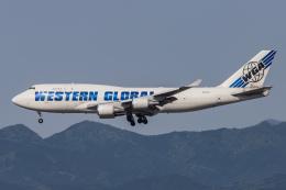 KANTO61さんが、横田基地で撮影したウエスタン・グローバル・エアラインズ 747-446(BCF)の航空フォト(飛行機 写真・画像)