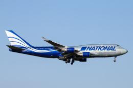 SGR RT 改さんが、成田国際空港で撮影したナショナル・エアラインズ 747-428(BCF)の航空フォト(飛行機 写真・画像)