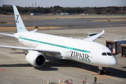 S.Hayashiさんが、成田国際空港で撮影したZIPAIR 787-8 Dreamlinerの航空フォト(飛行機 写真・画像)