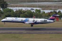 プルシアンブルーさんが、仙台空港で撮影したアイベックスエアラインズ CL-600-2C10 Regional Jet CRJ-702ERの航空フォト(飛行機 写真・画像)