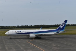 走る男さんが、鳥取空港で撮影した全日空 767-381/ERの航空フォト(飛行機 写真・画像)