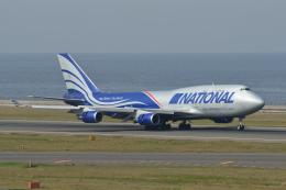 EC5Wさんが、中部国際空港で撮影したナショナル・エアラインズ 747-428(BCF)の航空フォト(飛行機 写真・画像)