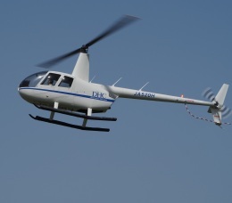 gennai04さんが、東京ヘリポートで撮影したディーエイチシー R44 Raven IIの航空フォト(飛行機 写真・画像)