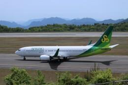 ヒロジーさんが、広島空港で撮影した春秋航空日本 737-81Dの航空フォト(飛行機 写真・画像)