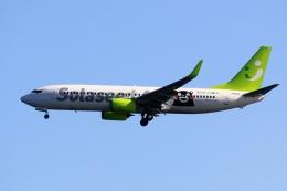 kaeru6006さんが、羽田空港で撮影したソラシド エア 737-81Dの航空フォト(飛行機 写真・画像)