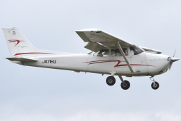 jun☆さんが、龍ケ崎飛行場で撮影した法政大学 172S Skyhawk SPの航空フォト(飛行機 写真・画像)