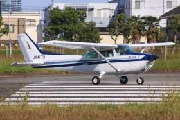 けいとパパさんが、八尾空港で撮影した朝日航空 172Pの航空フォト(飛行機 写真・画像)