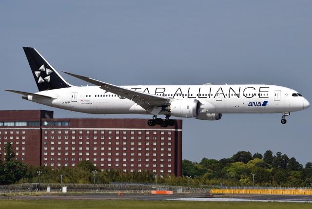 航空フォト:JA899A 全日空 787-9