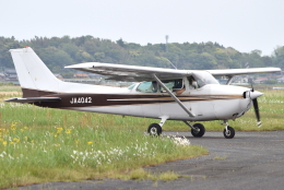 jun☆さんが、龍ケ崎飛行場で撮影した日本個人所有 172P Skyhawk IIの航空フォト(飛行機 写真・画像)